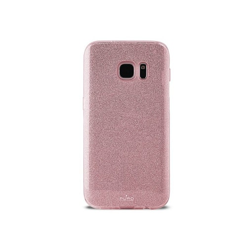 Puro Smg Galaxy S8, Shine Cover, rosaguld