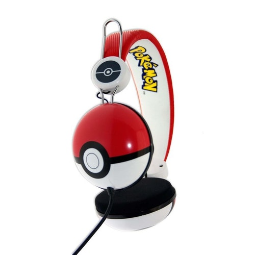 POKEMON Hörlur Tween On-Ear  Röd Pokeball