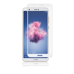 Panzer Huawei P Smart, Full-Fit Glass, White