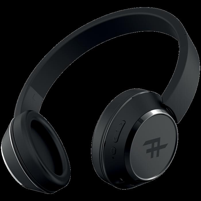 iFrogz Coda Wireless Headphones With Mic Svart