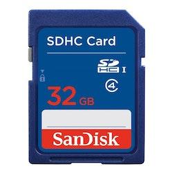 SANDISK Minneskort SDHC 32GB Class4