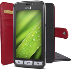Doro Wallet case 8030 röd