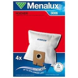 MENALUX Dammsugarpåsar 3006 Mikrofiber 5-pack