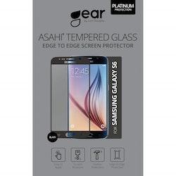 "GEAR Härdat Glas 3D 5.1"" Samsung S6, Edge to Edge Svart"