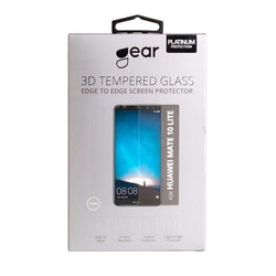 GEAR Härdat Glas 3D Huawei Mate 10 Lite Edge to Edge Transparent