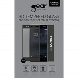 """GEAR Härdat Glas Nokia3 5"""" Silk Print"""