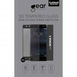 """GEAR Härdat Glas Nokia5 5,2"""" Silk Print"""