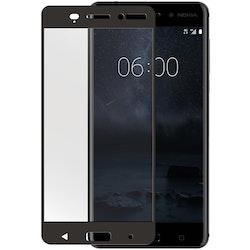 "GEAR Härdat Glas 3D Nokia6 5,5"" Edge to Edge Svart"