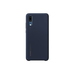 Huawei P20, Silicone Cover, Djupblå