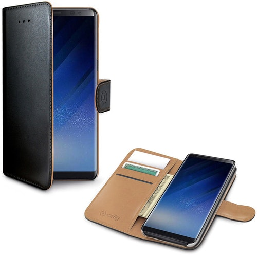 Celly Wallet Case Galaxy Note 8 Sv