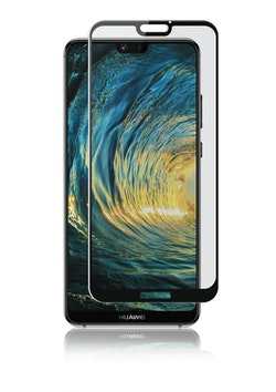 Huawei P20 Lite, Curved Glass, Black