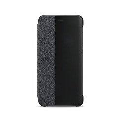 Huawei P10 Lite, View Flip Cover, grå