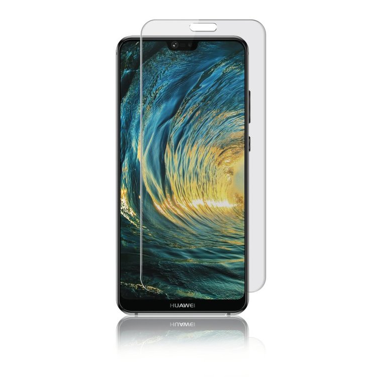 Panzer Huawei P20 Lite, Curved Glass, Transparent