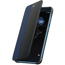 Huawei P10 Lite, View Flip Cover, blå