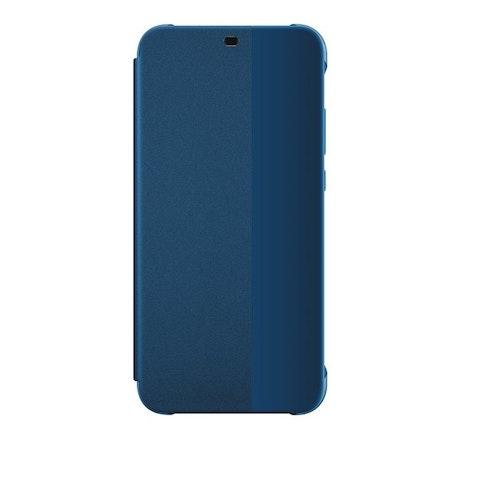 Huawei P20 Lite, Flip cover, Blå