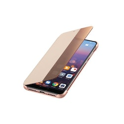 Huawei P20, Smart View Flip Cover, Pink
