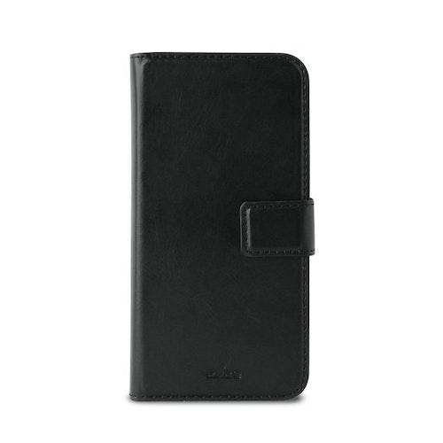 Puro Huawei P20 Lite, Milano EcoLeather Wallet, Svart