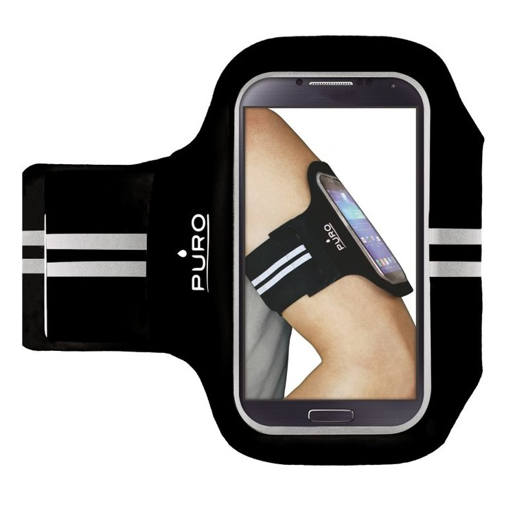 "Puro Universal Armband Smartphones up to 5.1""  Svart"