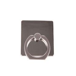 GEAR MobilRing Silver Metal Shine Roterande Fingerhållare med Ställfunktion