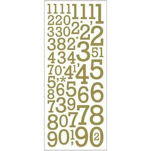 Stickers Guldsiffror
