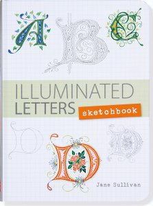 Illuminated Letters Sketchbook