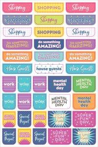 Planner Stickers  - 575 planeringsklistermärken