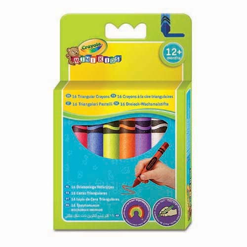 Crayola Kritor Triangulära