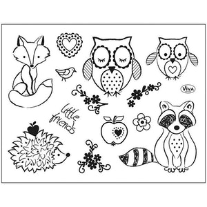 Clear stamps Djur