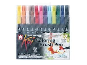 Koi Brush pens 12-pack