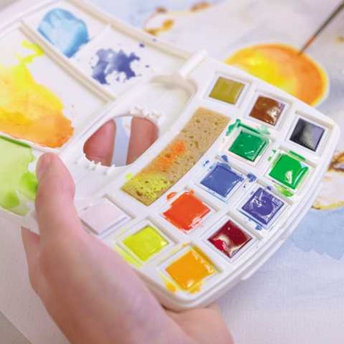 Art creation Watercolour Pocketbox