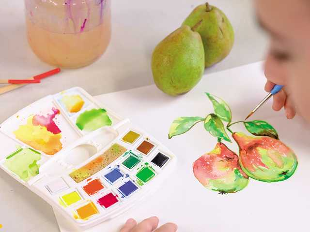 Art creation Watercolour Pocketbox
