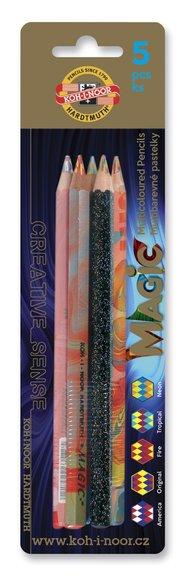 Magic-pennor 5-pack