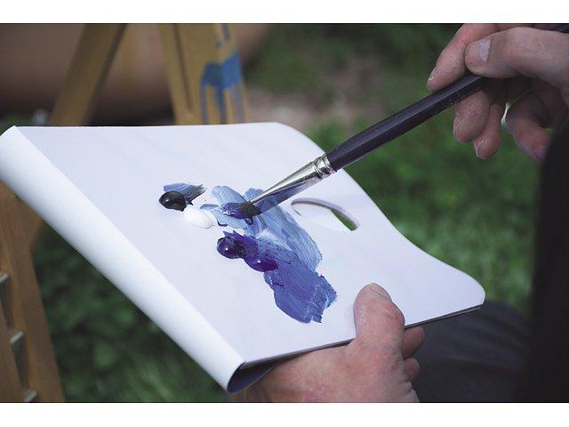 Avrivningspalett Art Creation