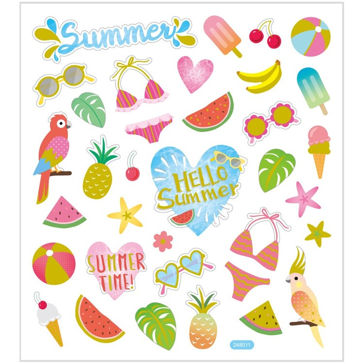 Stickers Hello Summer