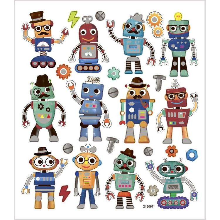 Stickers Robotar
