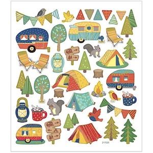 Stickers Campingtur