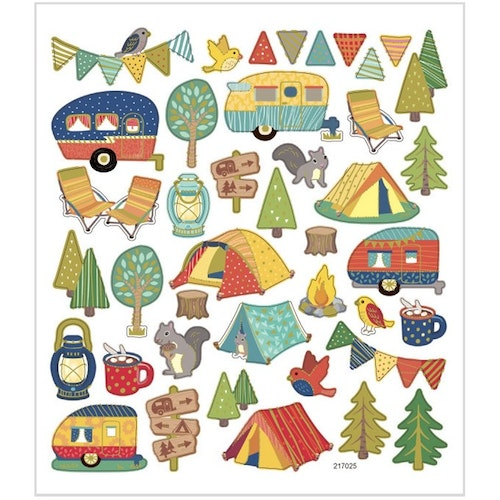 Stickers Campingtur