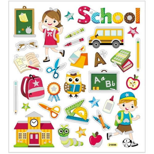Stickers School