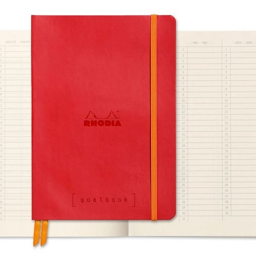 Rhodia Goalbook A5 Poppy
