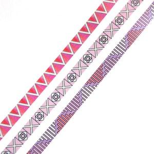 Slim Colorful Graphic Set of 3 - Willwa