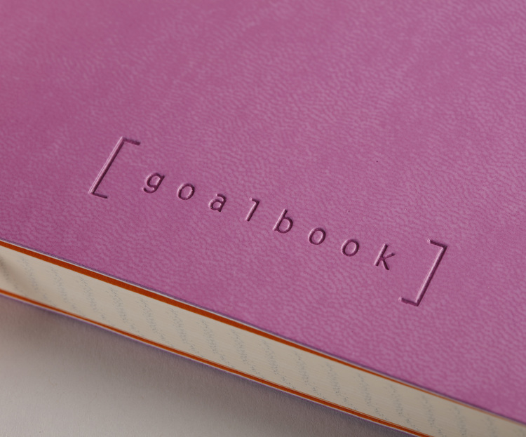 Rhodia Goalbook Lilas GRAPH (rutat papper)