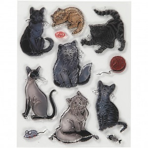 Clear stamps Katter