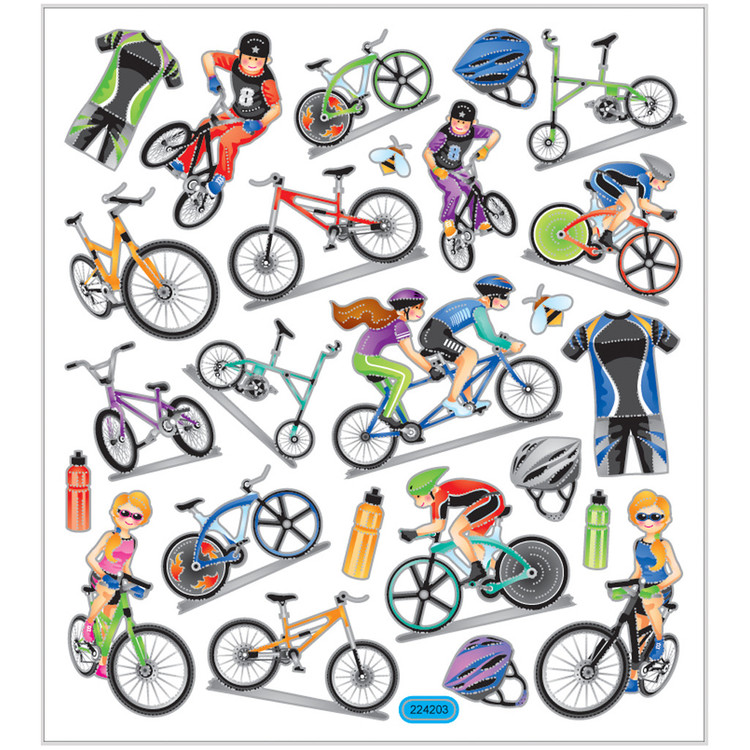 Stickers Cykling