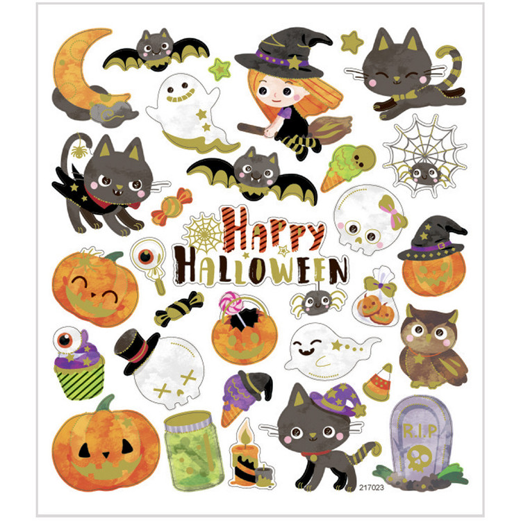 Stickers Happy Halloween