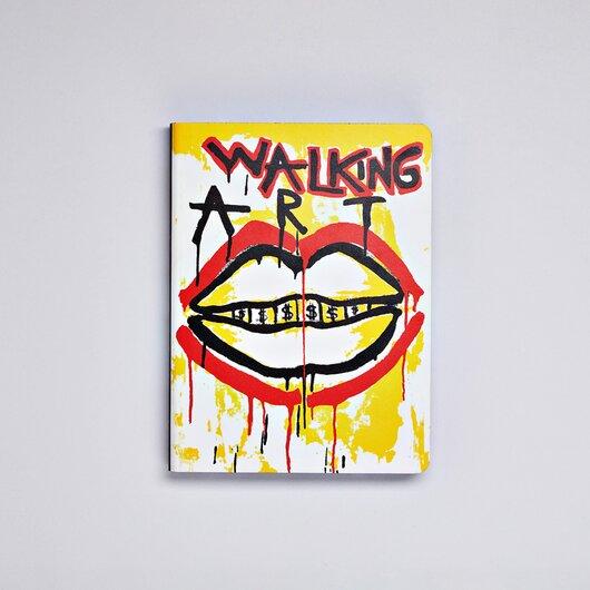 Nuuna graphic L Walking art by Marija Mandic