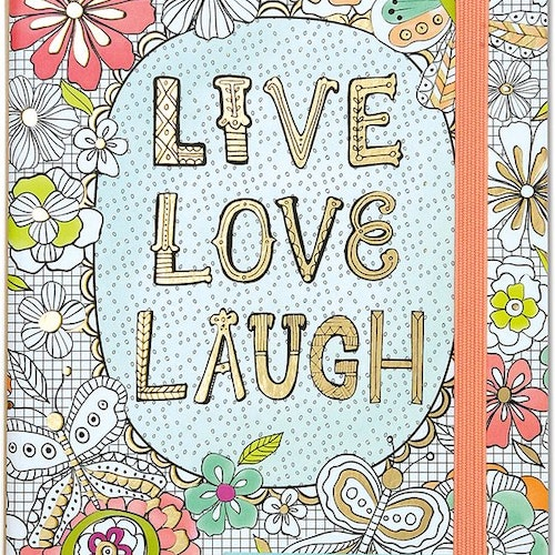 Live, Love, Laugh A Journal to Write, Color and Create