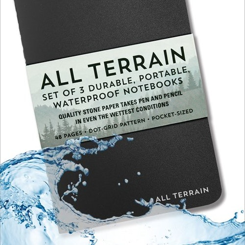 All terrain Waterproof Notebooks 3-pack