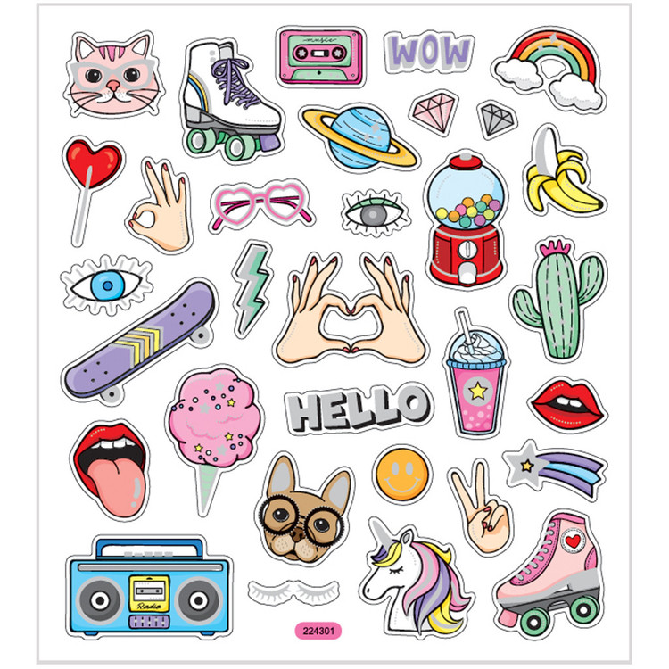 Stickers Girlpower