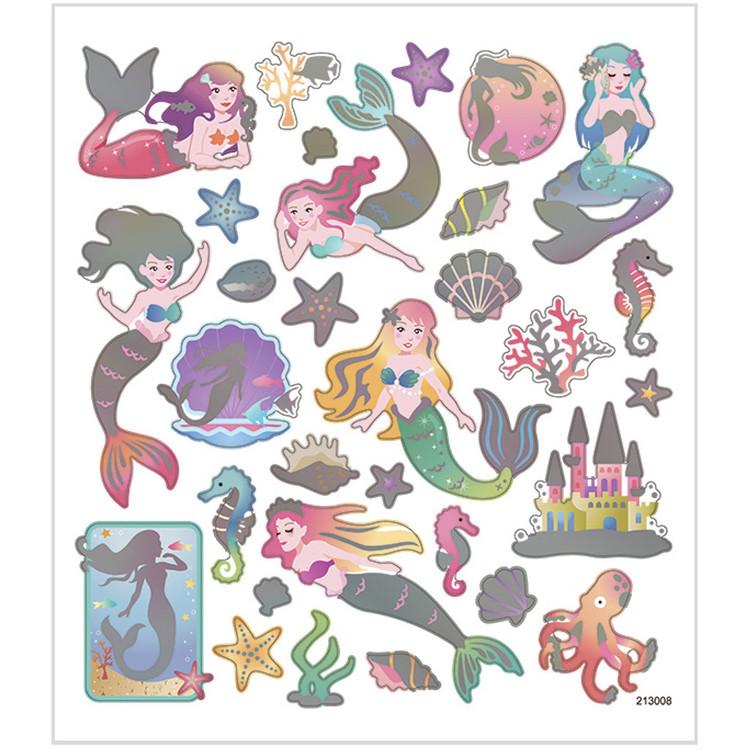 Stickers Sjöjungfrur