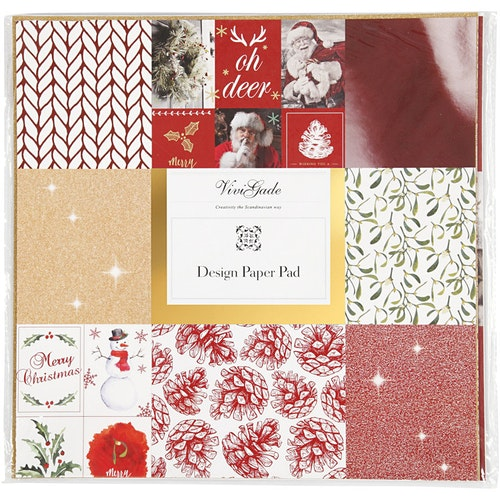 Design Paper Pad Merry Christmas